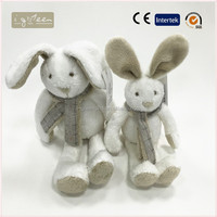 I-Green Toy Series-Fashional Style toy lovely cute stuffed doll white rabbit