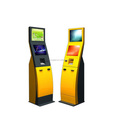 Dual Touch Screen Self-Service Payment Kiosk With Printer And Cash Acceptor