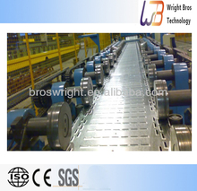 Galvanized iron perforated cable tray roll forming machine