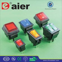 Daier rocker switch 4 pin on-off