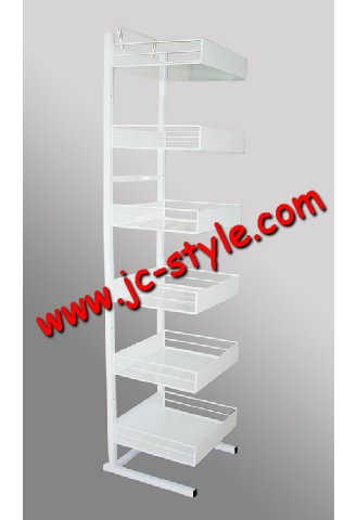 food display stand for market mall/candy or snack display shelving