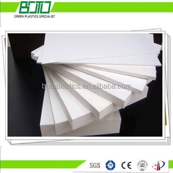Plastic Recycling PVC Co-extruded Foam Sheets 1-40mm