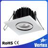 Vertex COB LED 8W Ceiling Down Lights,China Foshan, Dimmable Residential Recessed Downlight