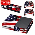For Xbox One Sticker Decal Skin USA Flag Accessories