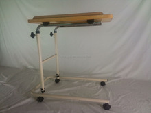 detachable hospital over bed dining table with casters RJ-6832B