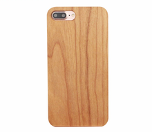 China gold supplier factory price wood phone case for iphone 7 plus case wooden bamboo protector