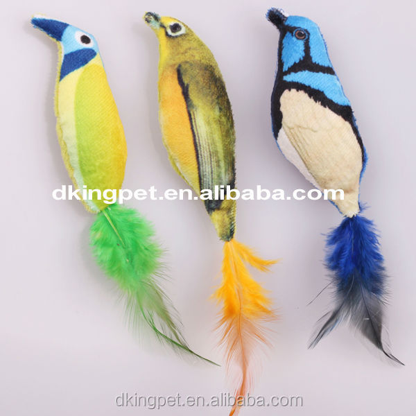 Best Price China Hot Sale Plush Bird Cat Toys