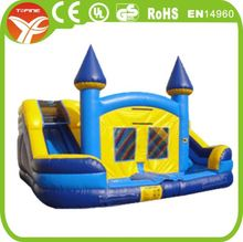 Popular Air filled inflatable slide, Cartoon inflatable air slide with arch