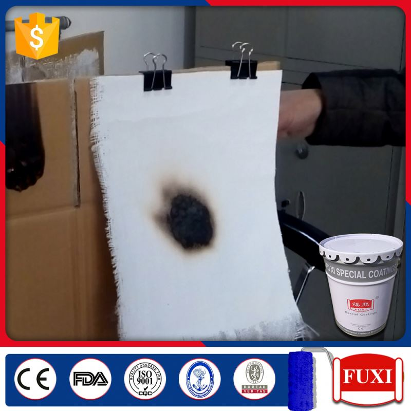 G60-95 Intumescent Coat Fire Proof Clear Coating Paint For Cement Concrete