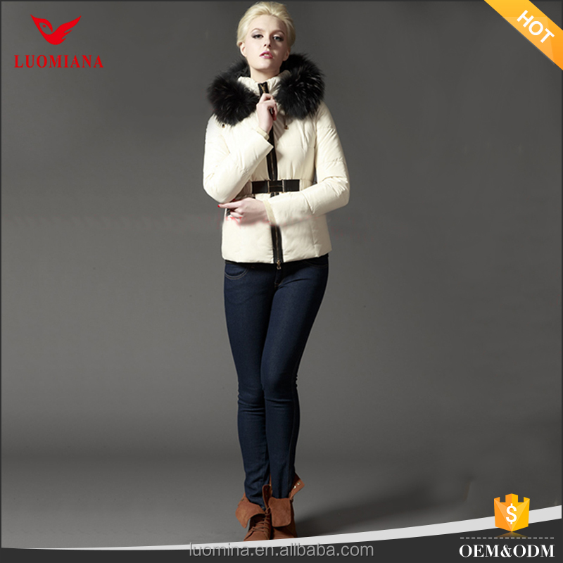 fashion wholesale clothing China women duck down jacket