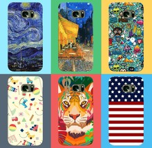 Free Sample Custom Printed Fancy Design for Galaxy S5 S6 Mobile Phone Case for Samsung S7 Cover