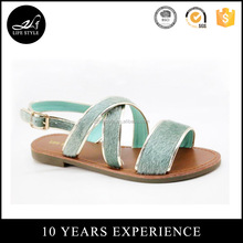 Wholesale new design personalized ladies sandal chappal brand name women sandals