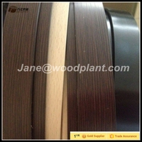 wengue color 2mm pvc edge binding tape in sale