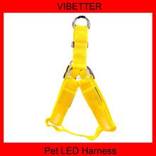 Hot Sell Mesh Shapes Led Dog Harness