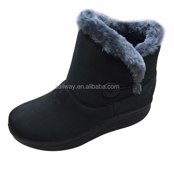 Woman annkle boot in fastener style- IW4258
