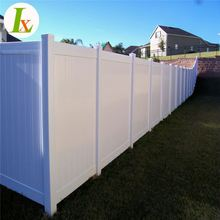 Pvc Viny Material Privacy Fence Panels