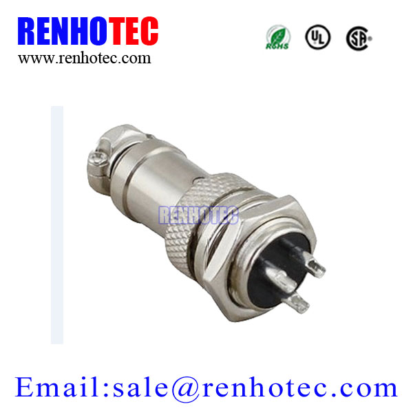 7 Pin Male Female Aviation GX16 Wire Pannel Connector