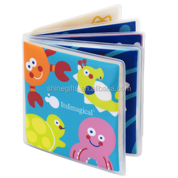 Novelty water bath book for kids