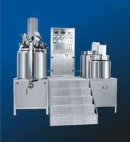 Toothpaste Making Equipment,Internal And External Circulation Vacuum Homogenizing Emulsifier