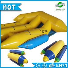Best price!!inflatable flying banana,inflatable flying manta ray,inflatable flying fish banana boat