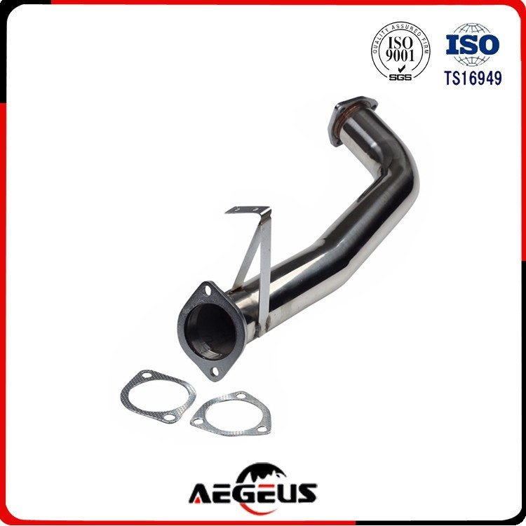 Auto Downpipe long tube racing For 240 SX 89-94 S13 stainless steel exhaust stainless