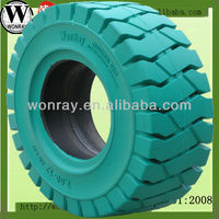 neumaticos solidos/ forklift solid rubber tyres 7.00-15 (black&non marking available)