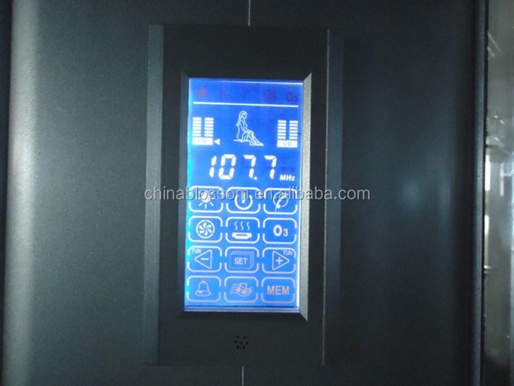 Coperta sauna bagno completo di vapore doccia con vasca idromassaggio doccia id prodotto - Bagno di vapore ...