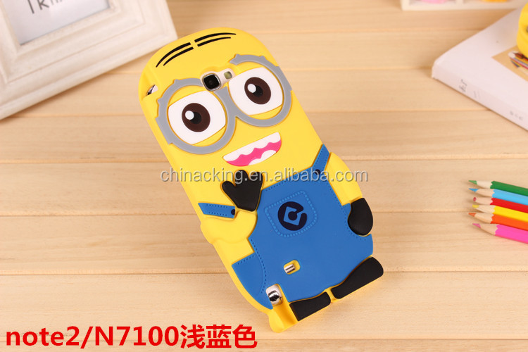 For Samsung Galaxy Note3 Case Despicable Me 2 Minions Case Cover