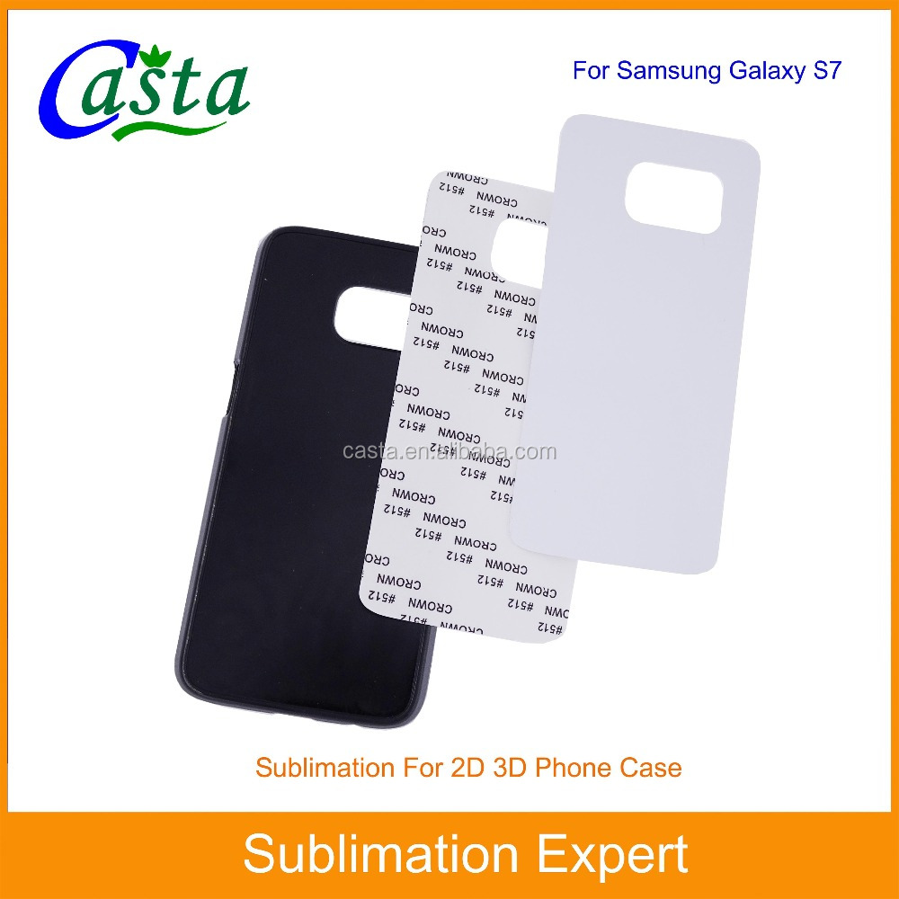 Blank Sublimation plastic cheap mobile phone case for Samsung Galaxy S7
