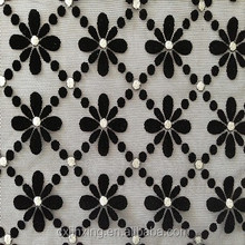 mesh flock fabric for garment