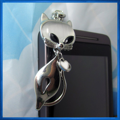 Hot sale Fashion Mobile Anti Dust Phone Jewelry,Cellphone Dust Plugs
