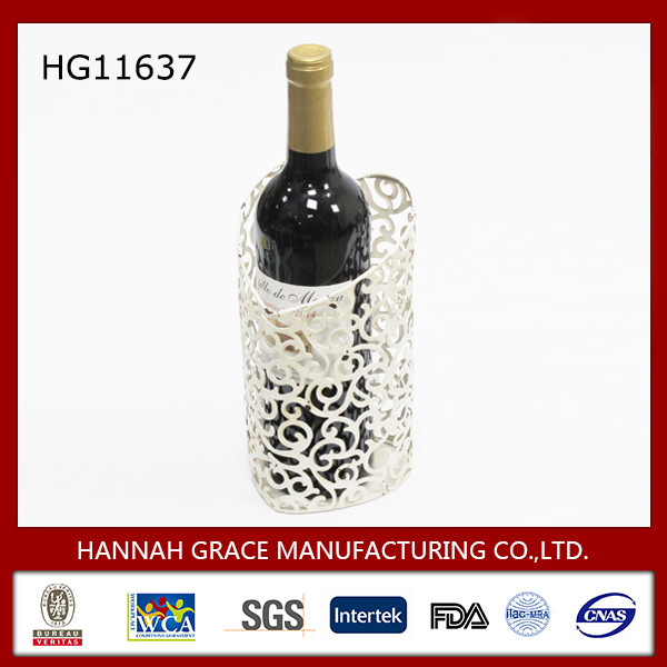 New Product Heart Shape Wine Rack Wedding Decoration