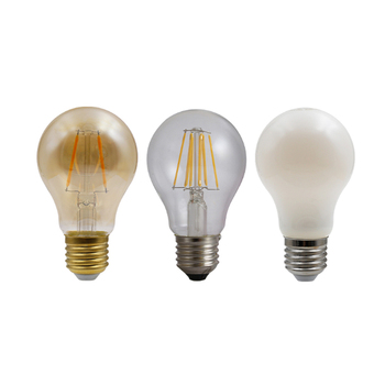 Custom Decorative Edison A60 E27 Filament Led Bulb ,6W 10W led filament lamp,led filament light