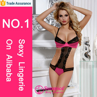 2015 newest design Europe syle hot open teddy sexy girls sex picture