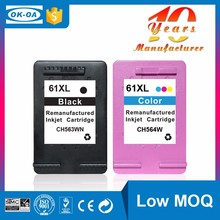 Hot high quality compatible ink cartridge for HP 61XL C CH564WE