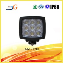 Car IP68 CE RoHS Approval Pilot Truck Lights 5.2 Inch 90W LED Work Light