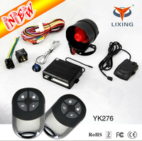 Alarme carro(car alarm) security system -basic one way tracking device car alarm system With Keyless Entry