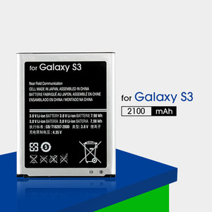 for Samsung Galaxy S3 battery replacement 2100mAh EB-L1G6LLU S3 bateria celular