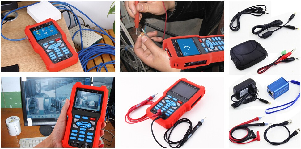High Quality Wire tracker CCTV tester with multimeter functions, DC & AC voltage / Resistance / Continuity measurement (NF-706)