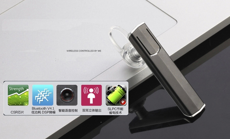 P300i (bluetooth earphone) support 4 kind of languages options for all smartphones call and music enjoy