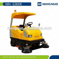 durable rechargeable gas powered broom sweeper industrial electric sweeper