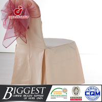 beauty salon ruffled wedding chair cover