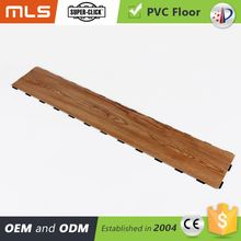 Fire Resistance Easy Lock Pvc Vinyl Plastic Flooring Looks Like Wood