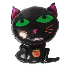 Halloween Black Cat Bat pirate Inflatable Pumpkin balloon