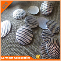 garment decoration flat back strong glue laser cut hotfix nailhead for jeans