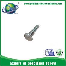 M3 stainless steel flat head shoulder thumb screw