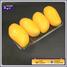 disposable PET/PP/PVC vacuum thermoforming food tray/fruit tray