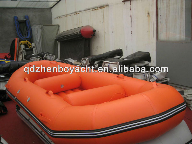 Color optional whitewater raft air inflatable boat