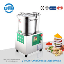 Factory price garlic ginger chili carrot peanut walnut almond meat chopper cutting machine multi functional vegetable cutter
