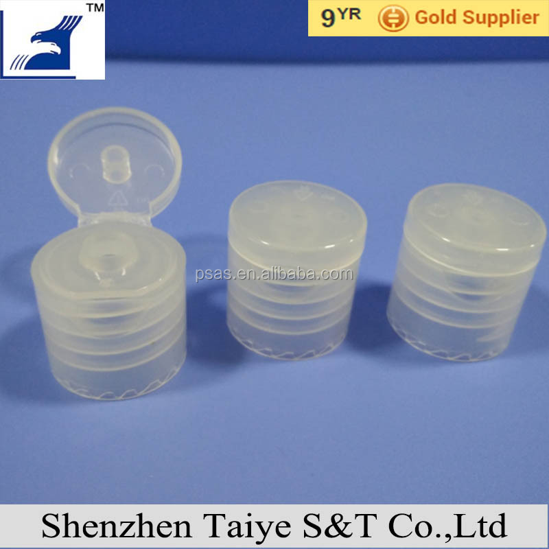 18/410 mm Plastic Flip Top Cap screw for bottle
